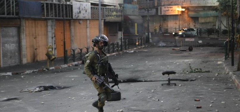 ISRAELI FIRE KILLS PALESTINIAN TEENAGER IN WEST BANK