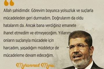 Muhammed Mursi'nin tarihte iz bırakan savunmaları