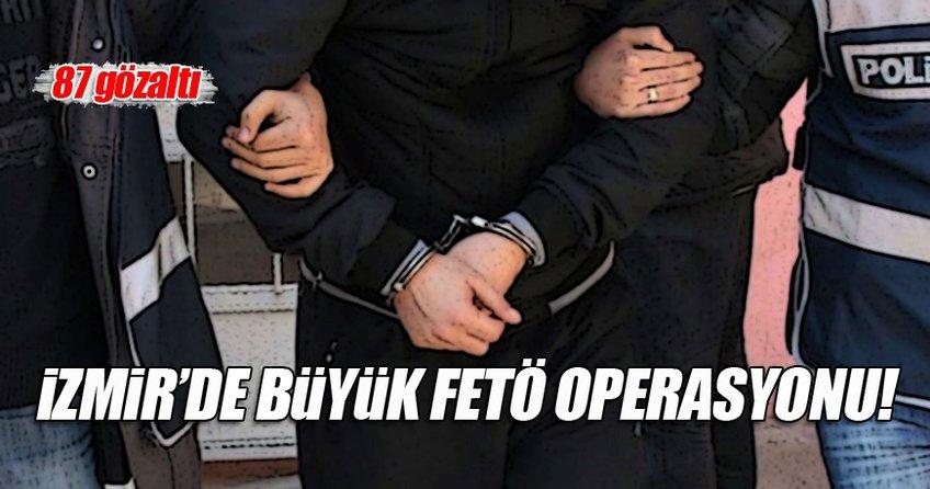 İzmir'de büyük FETÖ operasyonu!