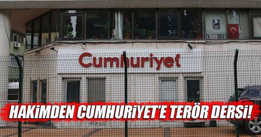 Hakimden Cumhuriyete FETÖ/PKK dersi