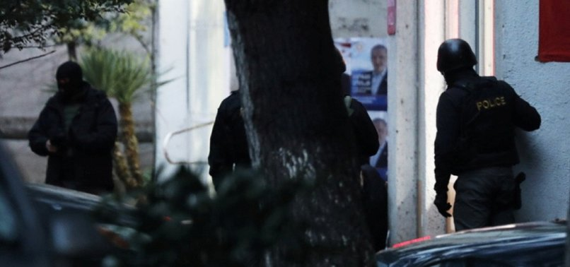GUNMAN RELEASES ALL HOSTAGES IN GEORGIAN CAPITAL TBILISI