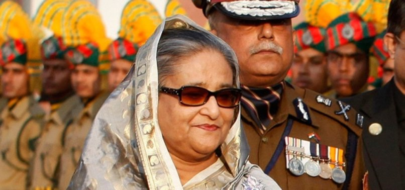 BANGLADESHS LEADER URGES ALL CITIZENS TO STAY AT HOME