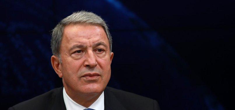 GREECE VIOLATES INTERNATIONAL LAW BY ARMING AEGEAN ISLANDS, DEFENSE MINISTER AKAR SAYS