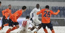 On snow-covered field, Başakşehir draw with Sivasspor