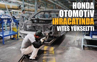 Kocaeli otomotiv ihracatında vites yükseltti