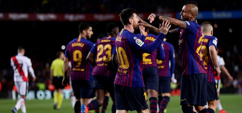 MESSI SCORES, ASSISTS AS BARCA KEEPS COMFORTABLE LIGA LEAD