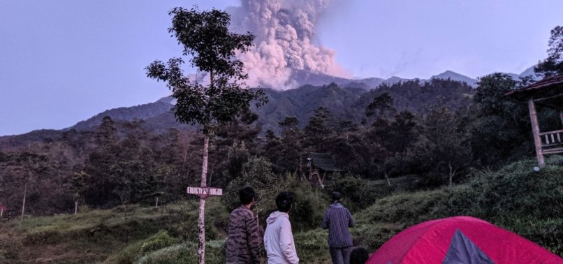 MOUNT MERAPI SPEWS LAVA, SMOKE IN INDONESIA