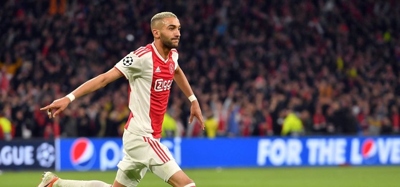 CHELSEA AGREE TO SIGN WINGER HAKIM ZIYECH FROM AJAX