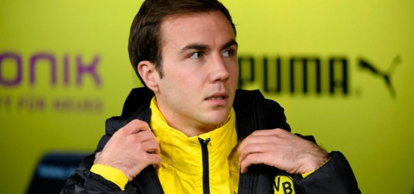 WORLD CUP WINNER GOETZE TO LEAVE DORTMUND AT END OF SEASON