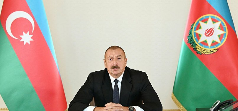 ALIYEV DENIES CLAIMS ON TURKEYS INVOLVEMENT IN ARMENIA CONFLICT