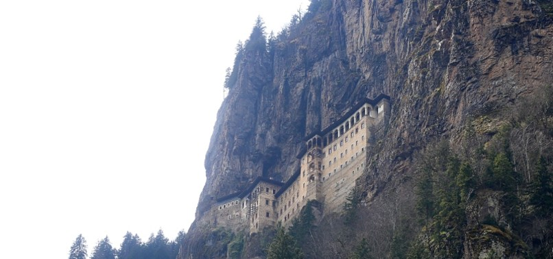 SÜMELA MONASTERY IN TURKEYS TRABZON TO WELCOME VISITORS IN MAY AFTER EXTENSIVE RENOVATION