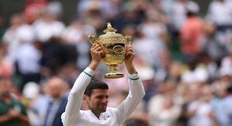 2021 Wimbledon Tek Erkekler Şampiyonu Novak Djokovic Oldu