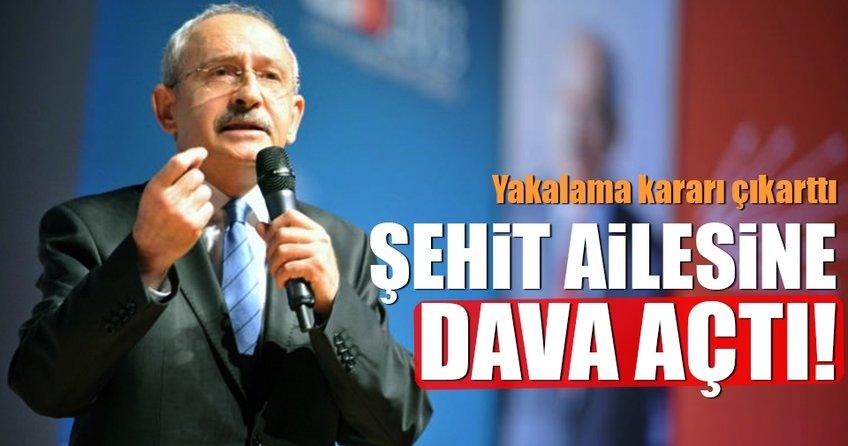 Kemal Kılıçdaroğlu şehit ailesiyle davalık oldu