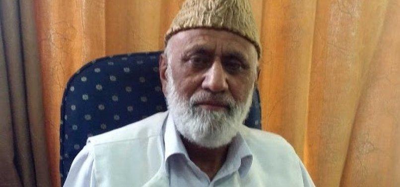 INDIA DETAINS KASHMIRI RESISTANCE LEADER
