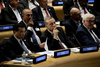 Turkey left alone on tackling Syria refugee crisis, Erdoğan tells world leaders at UN