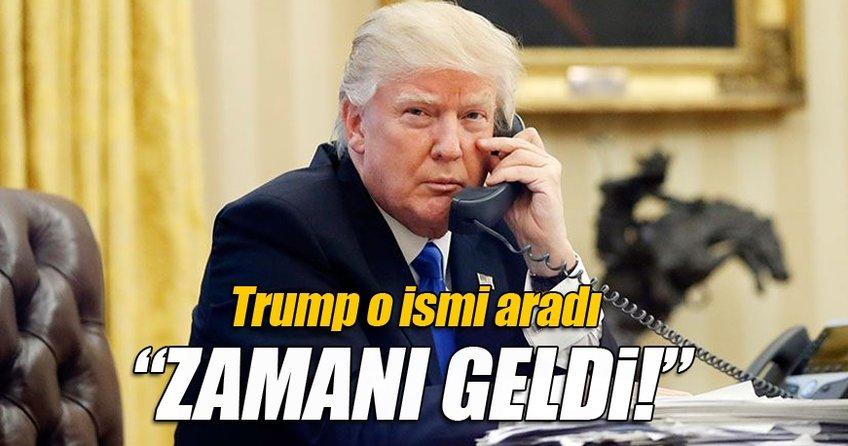 Trump Filistin Devlet Başkanı Abbas ile telefonda görüştü