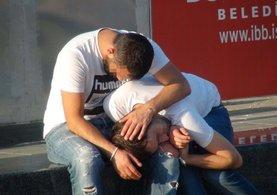 Taksim'de çekilen görüntüler yürekleri burktu