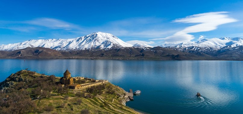 NATURE, HISTORY OF THE ISLANDS ON LAKE VAN TAKEN UNDER PROTECTION