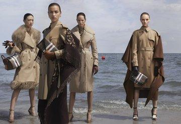 Irina Shayk ve Gigi Hadidli Burberry kampanyası