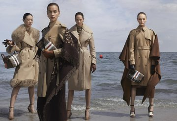 Irina Shayk ve Gigi Hadid'li Burberry kampanyası