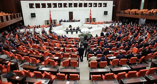 Lawmakers attending the constitutional amendment vote in Parliament in Ankara, Jan. 18, 2017.