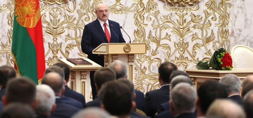 GERMANY DOESNT RECOGNISE LUKASHENKO AS BELARUS PRESIDENT AFTER SWEARING IN