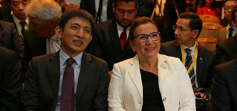 TURKEY, CHINA SEEK BALANCED BILATERAL TRADE TIES