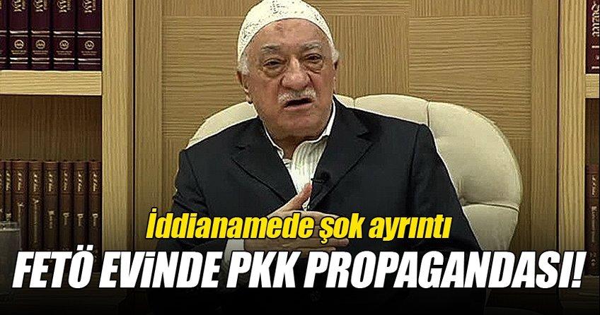 FETÖ evinde PKK propagandası iddiası!