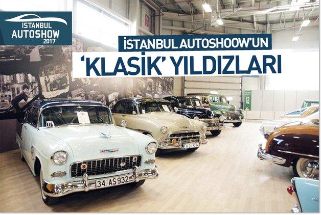 İstanbul Autoshow'un 'KLASİK' yıldızları