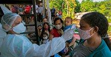 Coronavirus cases, deaths on rise in Brazil