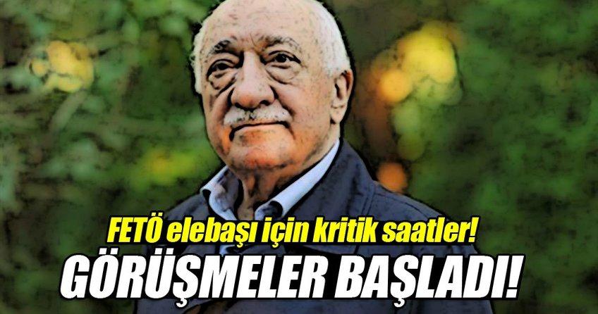 ABD heyetiyle Gülen'in iadesi görüşmeleri başladı