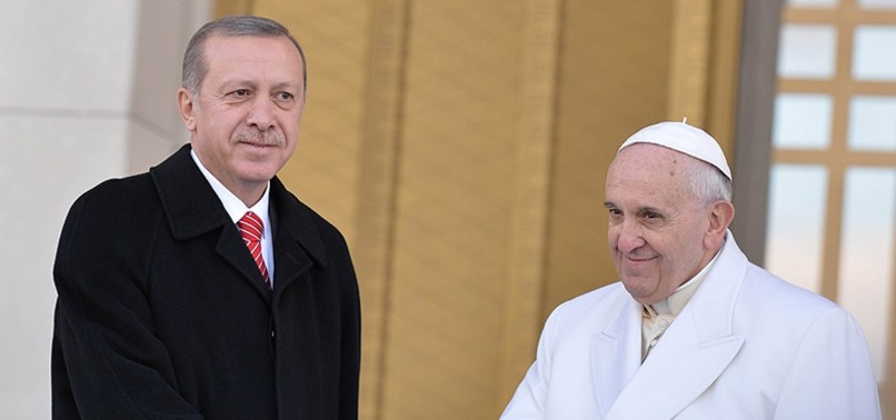 POPE WILL BE PLEASED ABOUT ERDOĞANS VISIT, AMBASSADOR SAYS