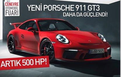 Yeni Porsche 911 GT3 daha da güçlendi! Artık 500 HP !