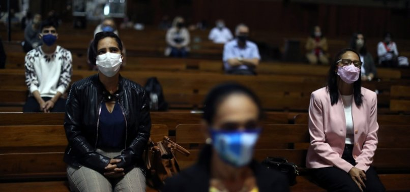 BRAZIL REPORTS 1,091 VIRUS FATALITIES, 523 DIE IN MEXICO