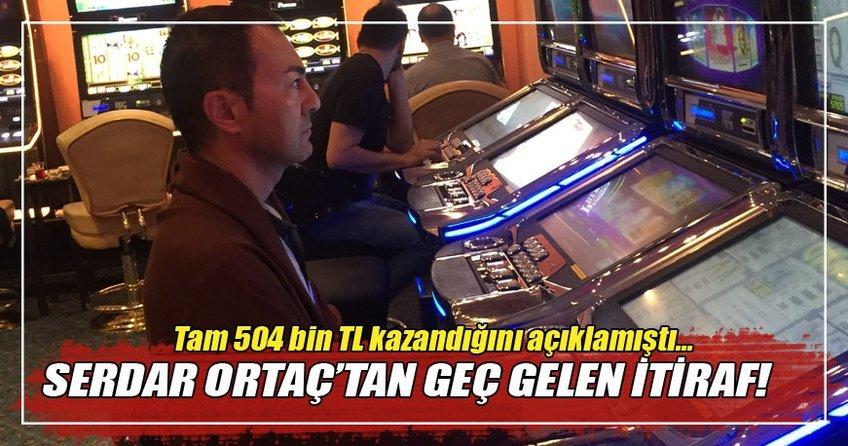 Serdar Ortaç'dan kumar itirafı