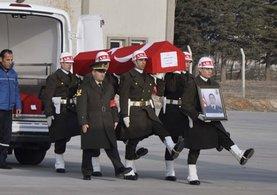 El Bab'ta 5 askerin cenazesi memleketlerine uğurlandı
