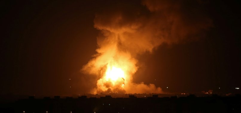ISRAELI ARMY BOMBARDS SEVERAL LOCATIONS IN GAZA