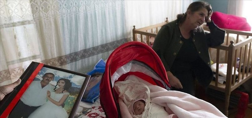 ARMENIAN ARMY ORPHANS 22-DAY-OLD INFANT IN BOMB ATTACK