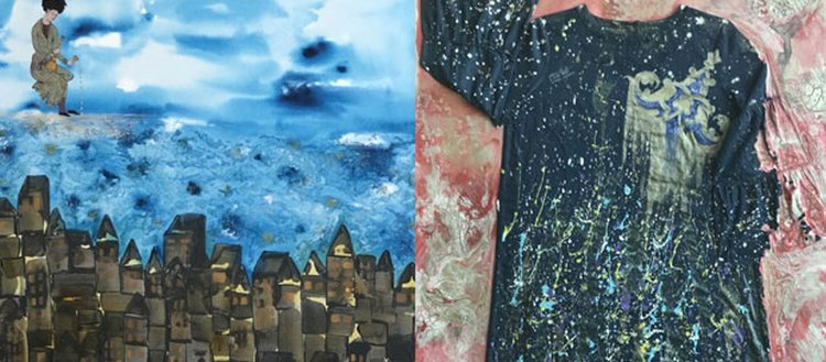 Modern tezhip sanatı moda ile buluşuyor