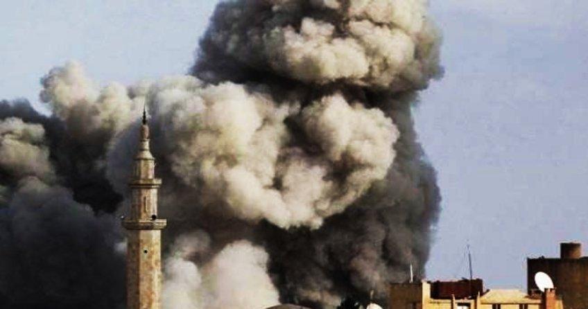 Esed rejimi köyü bombaladı: 20 kişi ölü, 35 yaralı