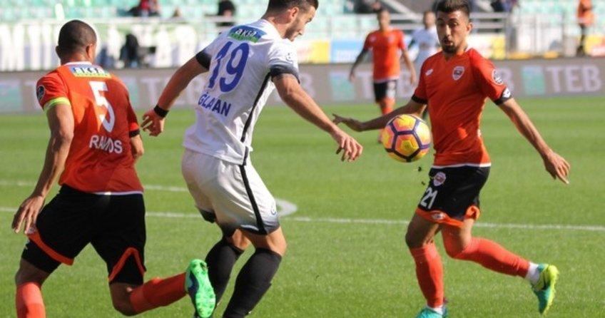 Rize'de Roni maça damga vurdu! Çaykur Rizespor 2 Adanaspor 2