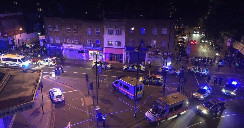 Londradaki minibüslü saldırıya İngiliz basını kaza dedi