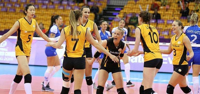 Turkish club wins gold in world womens volleyball