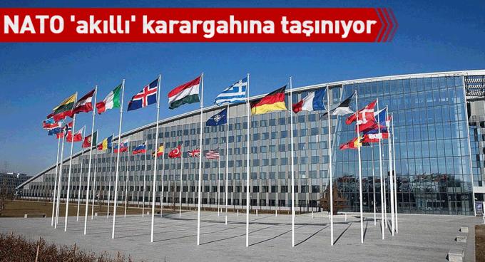 NATO akıllı karargahına taşınıyor