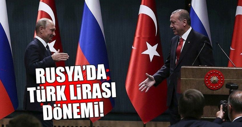 Moskova Borsası'nda Türk Lirası dönemi!