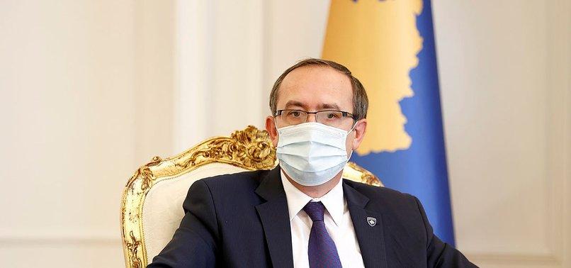 KOSOVO PM TESTS POSITIVE FOR COVID-19