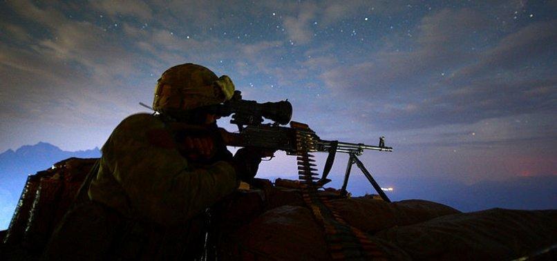 5 PKK TERRORISTS NEUTRALIZED IN SOUTHEAST TURKEY