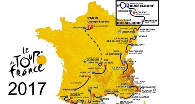 5 key stages of the 2017 Tour de France