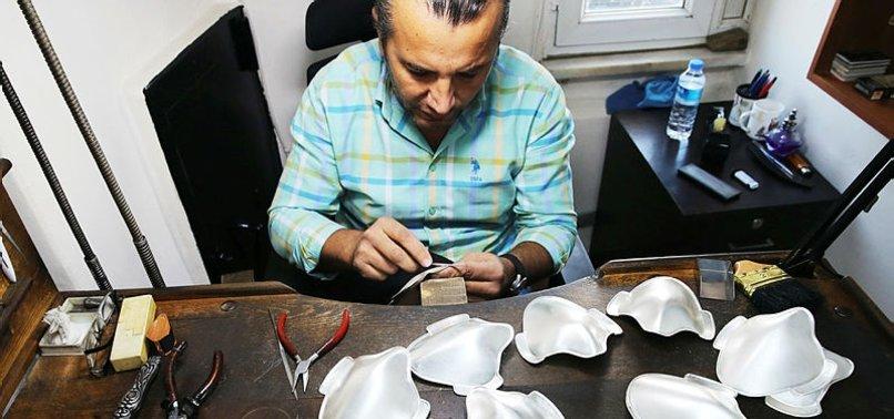 TURKISH CRAFTSMAN FORGES UNIQUE SILVER, GOLD FACEMASKS