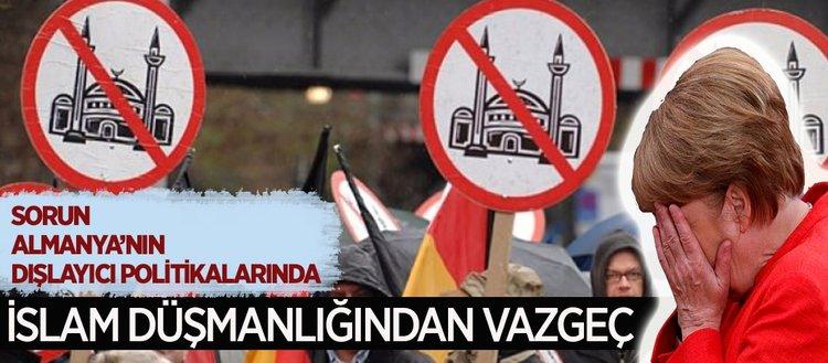Almanya dışlayıcı İslam politikasından vazgeçmeli